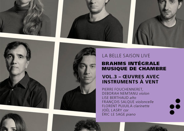Pochette de l'album VOl.3 Intégrale Brahms B Records