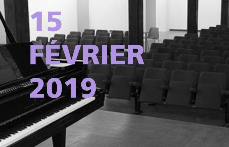 Concert du 15 février au Méjan à Arles