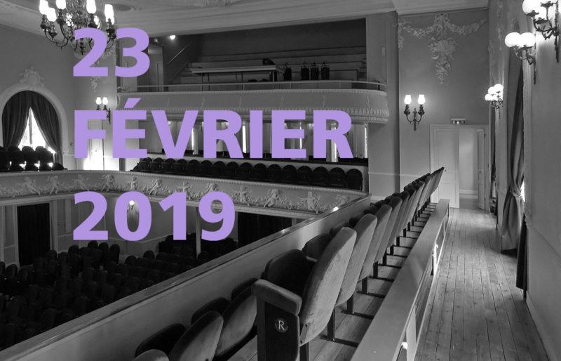 Concert le 23 février 2019 à Coulommiers